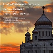 Sergei Rachmaninoff (1873-1943): Symphony No. 3 in A minor; 10 Songs / Vsevolod Grivnov, tenor; London PO, Vladimir Jurowski