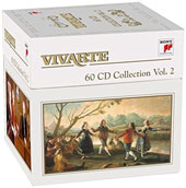 The Vivarte Collection, Vol. 2 - Sony's early music label of historically informed performances by such artists as Anner Bylsma, Gustav Leonhardt, Tafelmusik, Huelgas Ensemble, L'Archibudelli et al. [60 CDs]