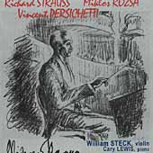 Strauss, Rózsa, Perischetti / William Steck, Cary Lewis