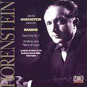Brahms: Symphony no 1, Haydn Variations / Horenstein, et al