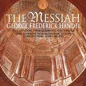 Handel: The Messiah / Alldis, London Philharmonic, et al