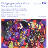 Mozart: Vespers, Litanies / Kalijuste, Urb, Moor, Turi, etc