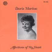 Affections of My Heart - Mozart, Faur&#233;, etc / Doris Marion
