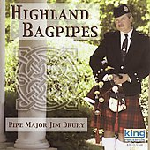 Pipe Major Jim Drury