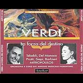 Verdi: La forza del destino / Mitropoulos, Tebaldi, et al