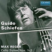 Reger: Cello Suites / Guido Schiefen