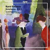 Rathaus: Symphony no 2 & 3 / Yinon, et al