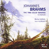 Brahms: The Two Cello Sonatas, etc / Kanka, Klánsky