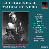 La leggenda di Magda Olivero - Studio Recordings 1938-1953