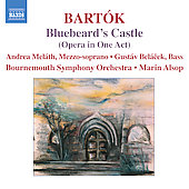 Bart&oacute;k: Blue Beard's Castle / Alsop, Mel&aacute;th, et al