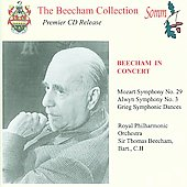 Beecham in Concert - Mozart, Grieg, Alwyn