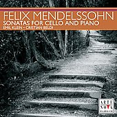 Mendelssohn: Sonatas for Cello and Piano / Klein, Beldi