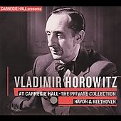 Vladimir Horowitz At Carnegie Hall