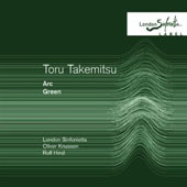 Toru Takemitsu: Arc; Green