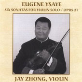 Eugene Ysaye: Six Sonatas for Violin Solo, Op. 27