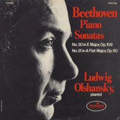 Beethoven: Piano Sonatas No. 30 & No. 31