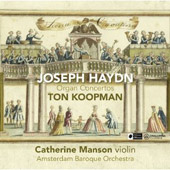 Joseph Haydn: Organ Concertos / Koopman