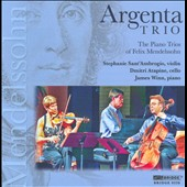 The Piano Trios of Mendelssohn / Argenta Trio