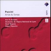 Puccini: Arias & Songs / Kiri Te Kanawa, soprano; Roger Vignoles, piano