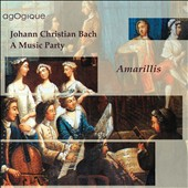 JC Bach: A Musical Party / Gaillard, Michel, Plantier, Paccoud