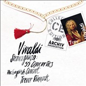 Vivaldi Stravaganza: 55 Concertos / Trevor Pinnock - English Concert