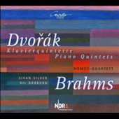 Dvor&#225;k, Brahms: Klaverquintette