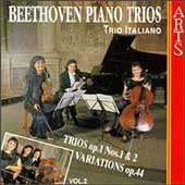 Beethoven: Piano Trios Vol 2 / Trio Italiano