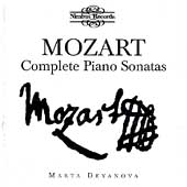 Mozart: Complete Piano Sonatas / Marta Deyanova