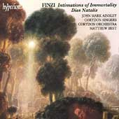 Finzi: Intimations of Immortality, Dies Natalis / Ainsley
