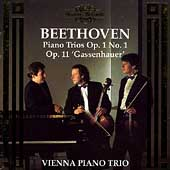 Beethoven: Piano Trios Op 1 no 1, Op 11 / Vienna Piano Trio