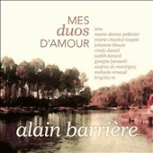 Various Artists: Alain Barriere Les Duos Amour