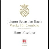 J.S. Bach: Works for Harpsichord - a near complete overview of Bach's harpsichord works (rec. in the '60s) / Hans Pischner, David & Igor Oistrakh