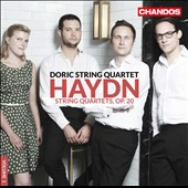 Haydn: String Quartets, Vol. 1 - Quartets Op. 20/1-6 / Doric String Quartet
