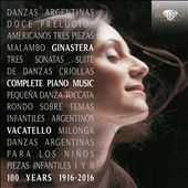 Ginastera: Complete Piano Music / Mariangela Vacatello, piano [2 CDs]