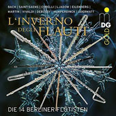 Christmas Favourites for Flute from Bach Saint-Saens Corelli / 14 Flautists of the Berlin Philharmonic