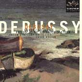 Debussy: La Mer, Nocturnes, etc / Previn, London SO