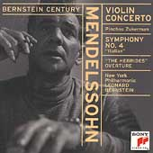 Bernstein Century - Mendelssohn: Violin Concerto, etc