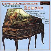 The Virtuoso Harpsichord Vol 1 - Rameau / Anton Heiller