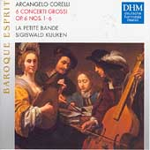 Corelli: 6 Concerti Grossi Op 6 no 1-6 / Kuijken, et al