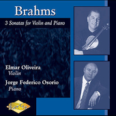 Brahms: 3 Sonatas for Violin and Piano / Oliveira, Osorio