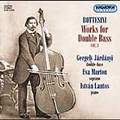 Bottesini: Works for Double Bass Vol 3 / Járdányi, et al