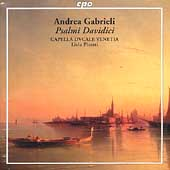 Gabrieli: Psalmi Davidici / Picotti, Capella Dvcale Venetia