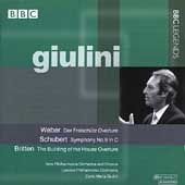 Giulini - Weber, Schubert, Britten / LPO, New Philharmonia
