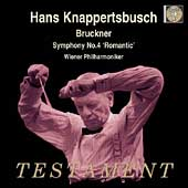 Bruckner: Symphony no 4 / Knappertsbusch, Vienna PO