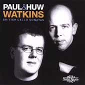British Cello Sonatas / Paul & Huw Watkins