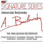 Brailowsky plays Vivaldi/Bach, Scarlatti/Tausig, etc
