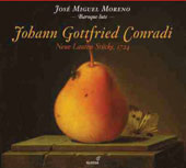 Johann Gottfried Conradi (d.1747) & Jan Antonin Losy (1650-1721): Pieces for Lute (1724) / Jose Miguel Moreno, Baroque lute