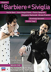 Rossini: Barber of Seville / Juan Diego Florez [2 DVD]