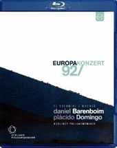 Europakonzert 1992 from El Escorial: Verdi: Arias; Schubert: Symphony no 8