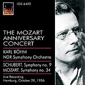 The Mozart Anniversary Concert - Mozart, Schubert / B&#246;hm